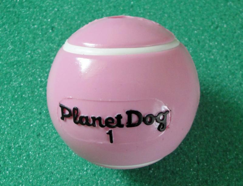 PLANET DOG PINK TENNIS BALL