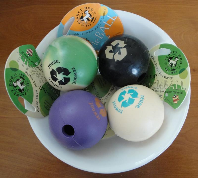 planet dog recycle balls